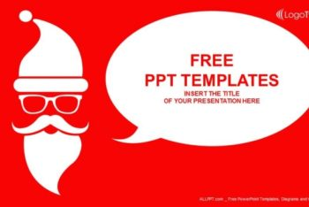 Free Santa Claus Christmas Vector Powerpoint Template