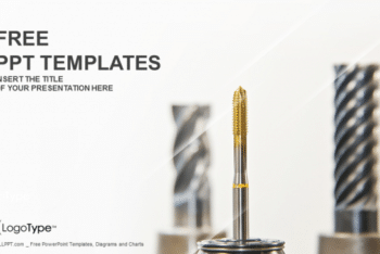 Free Heavy Machinery Industry Powerpoint Template