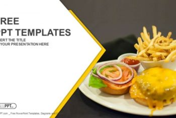 Free Delicious Burger Shop Powerpoint Template