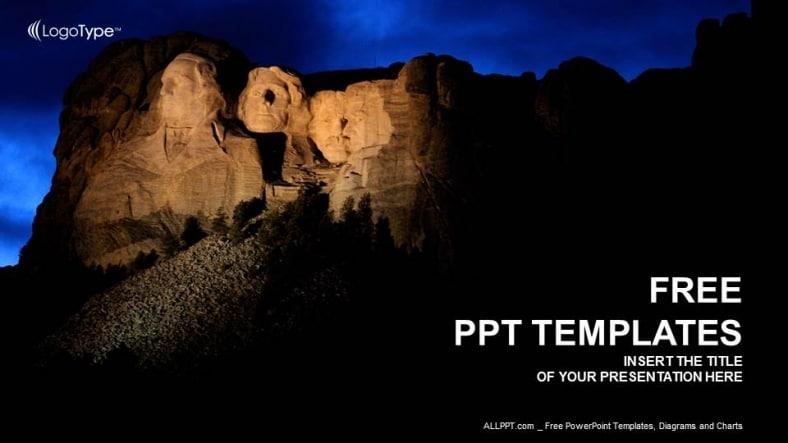 Mount Rushmore Recreation