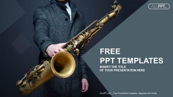 Jazz Musician Saxophone