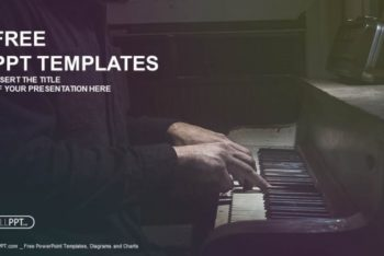 Free Dramatic Piano Musician Powerpoint Template