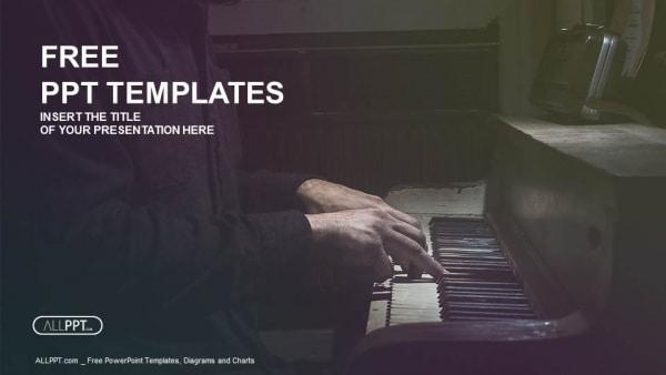 Dramatic Piano Musician