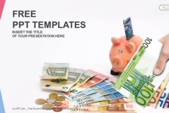 Free Finance Saving Tips Powerpoint Template