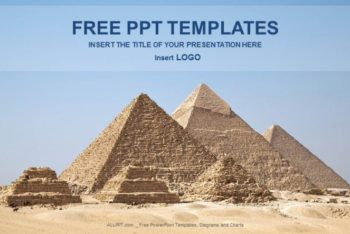 Free Great Pyramids Concept Powerpoint Template