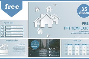 Free Real Estate Agent Powerpoint Template