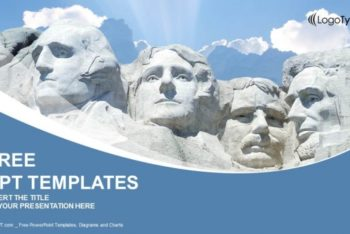 Free Mount Rushmore Park Powerpoint Template