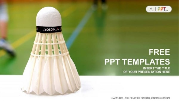 Badminton Shuttlecock Concept