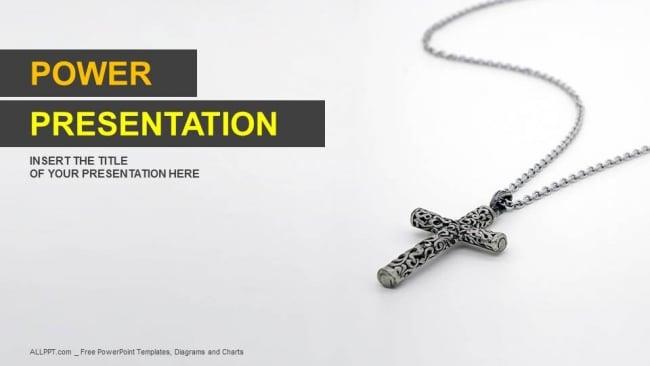 Silver Christian Pendant