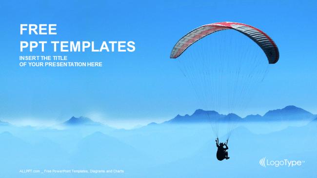 Extreme Paraglider Sport
