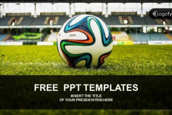 Free Soccer Ball Concept Powerpoint Template