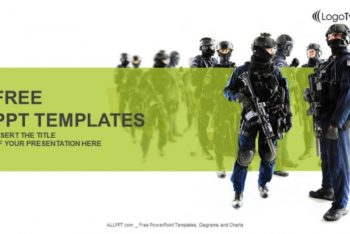 Free Fierce SWAT Team Powerpoint Template