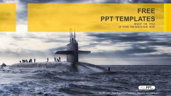 Military Submarine Sailing