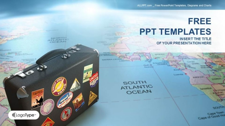 Global Travel Suitcase