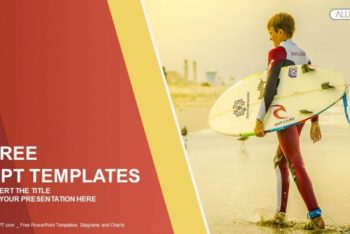 Free Professional Surfer Feature Powerpoint Template