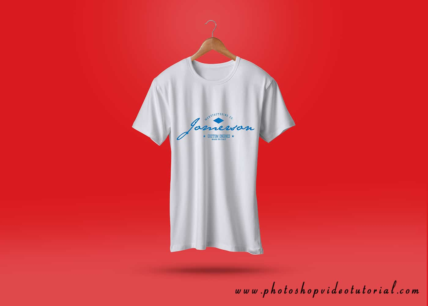 t-shirt-psd template
