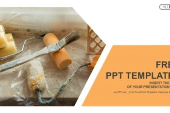 Free Home Renovation Tools Powerpoint Template