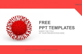 Free Medical Virus Concept Powerpoint Template