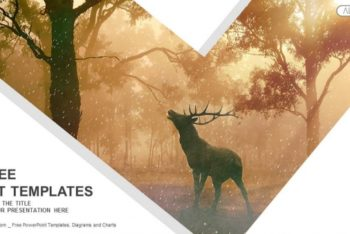 Free Mystical Wild Forest Powerpoint Template