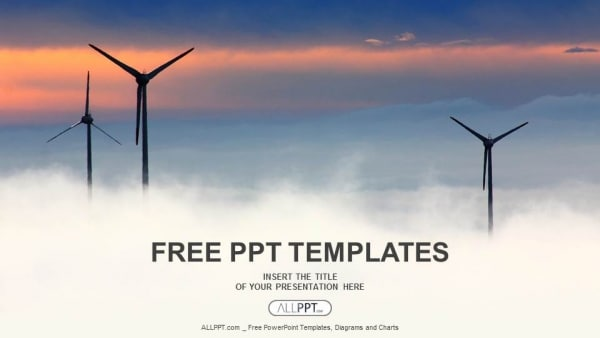 Futuristic Wind Power Farms