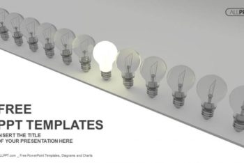 Free Great Idea Light Bulb Powerpoint Template