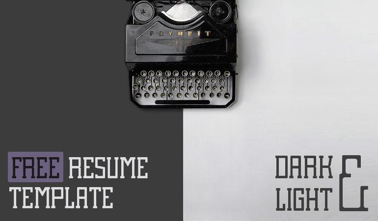 Resume Slides Concept