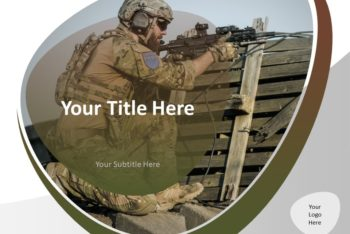 Free Military Action Concept Powerpoint Template
