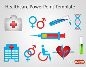 Free Healthcare Signs Concept Powerpoint Template