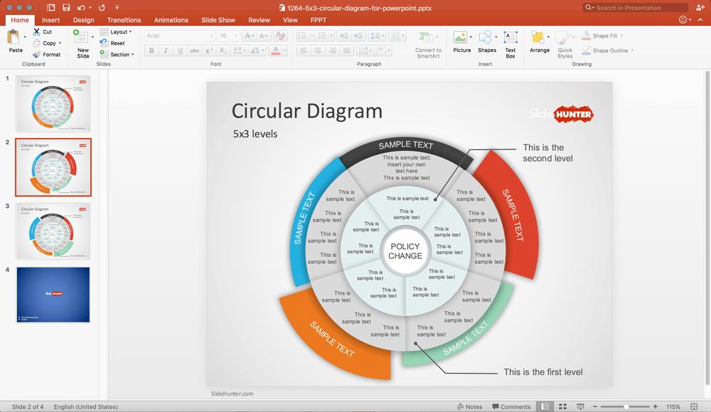 Multi Level Circle