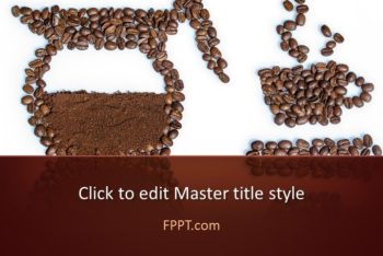 Free Coffee Bean Business Powerpoint Template