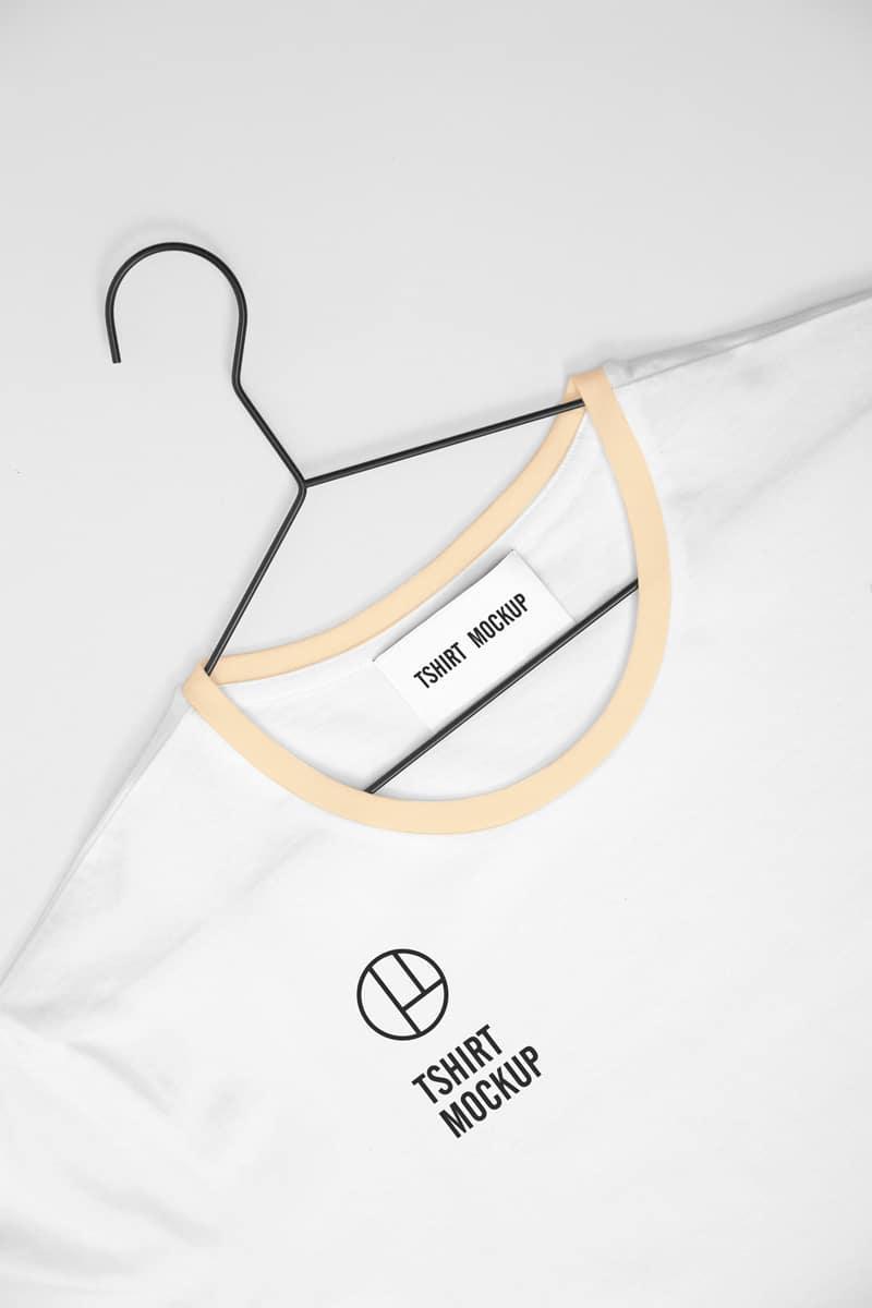 Simple White T Shirt Psd Mockup Download For Free Designhooks