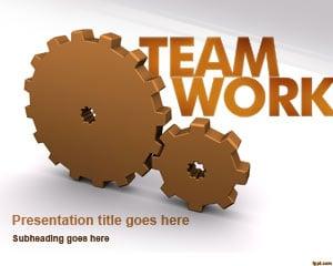 Modern Teamwork Concept