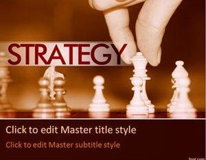 Free Chess Strategy Concept Powerpoint Template