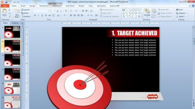 Target Achieved Slide