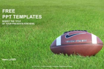 Free American Football Training Powerpoint Template
