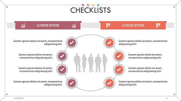 Corporate Checklist Concept