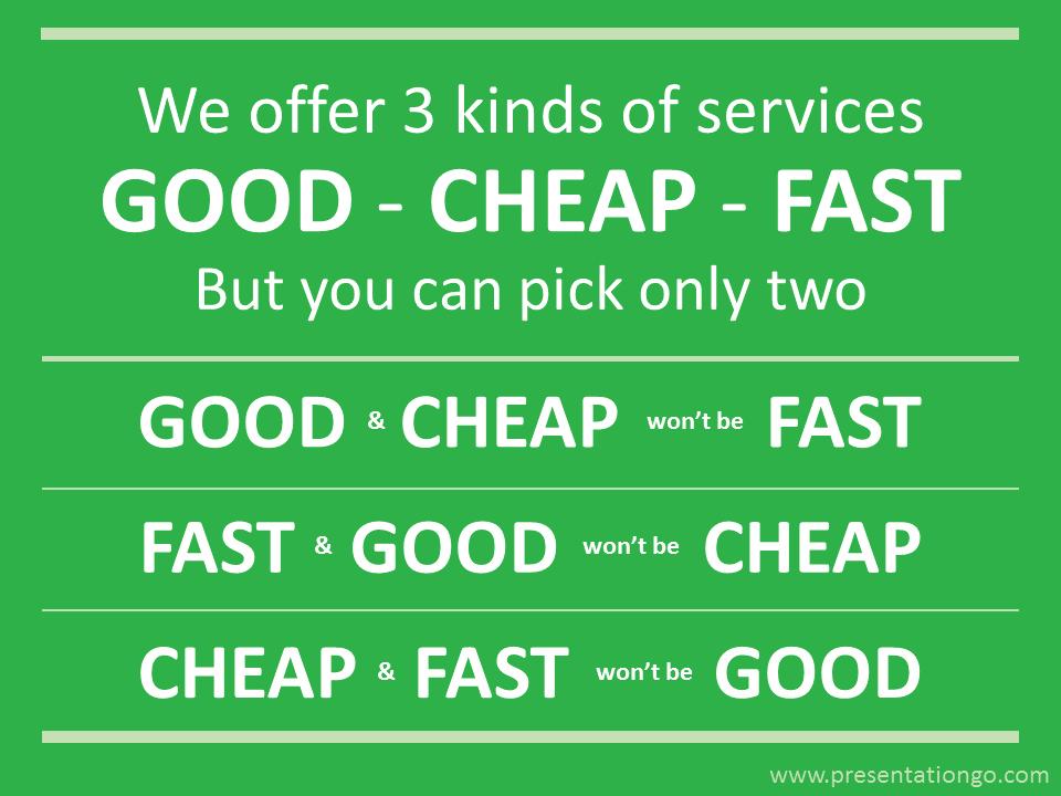 Business Philosophy Slide