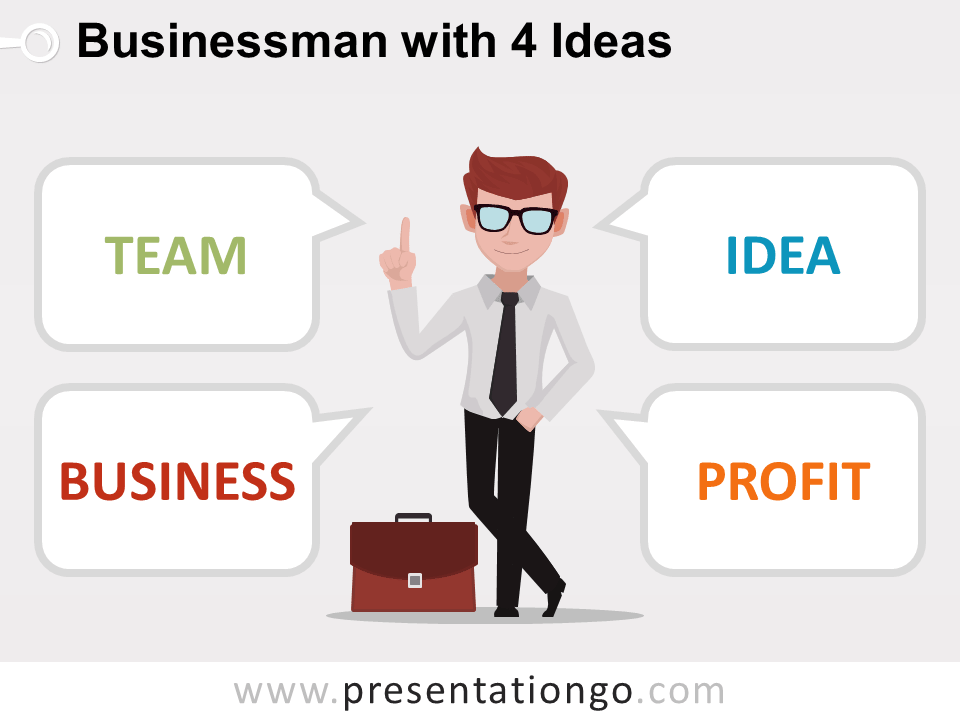 Business Ideas Concept
