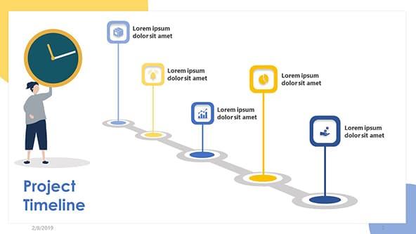 Project Timeline Slide