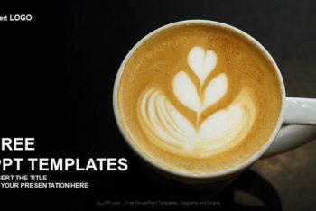 Free Elegant Coffee Serving Powerpoint Template