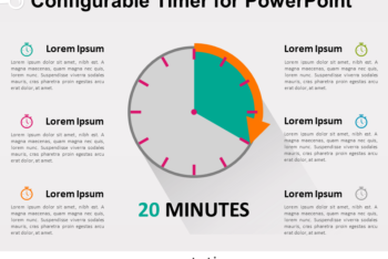 Free Helpful Timer Concept Powerpoint Template