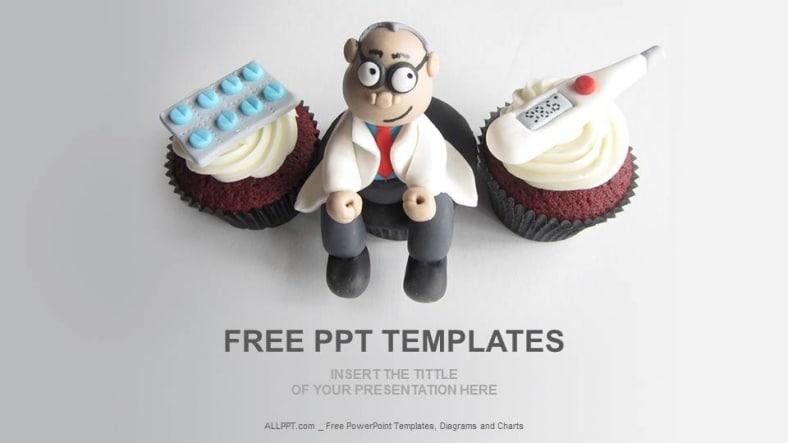 Medical Doctor Cupcake