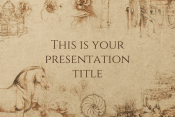 Free Historical Lecture Concept Powerpoint Template