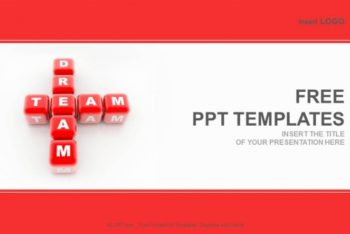 Free Business Dream Team Powerpoint Template