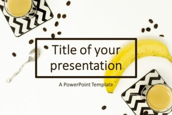 Free Healthy Fruit Breakfast Powerpoint Template