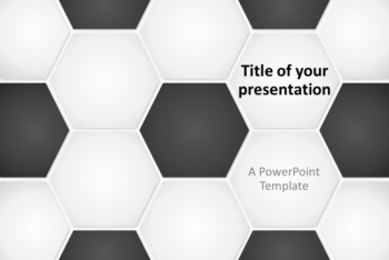 Free Football Soccer Presentation Powerpoint Template