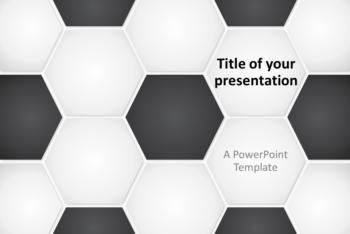 Free Football Soccer Presentation Powerpoint Template
