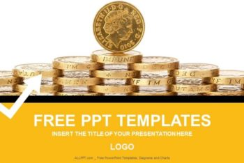 Free Gold Coins Finance Powerpoint Template