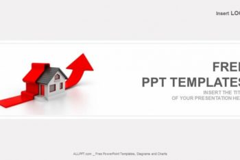 Free Growing Real Estate Profit Powerpoint Template