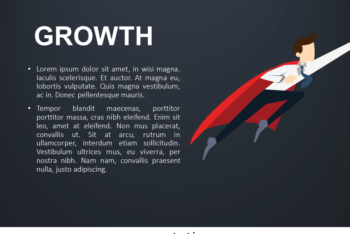 Free Growth Metaphor Concept Powerpoint Template